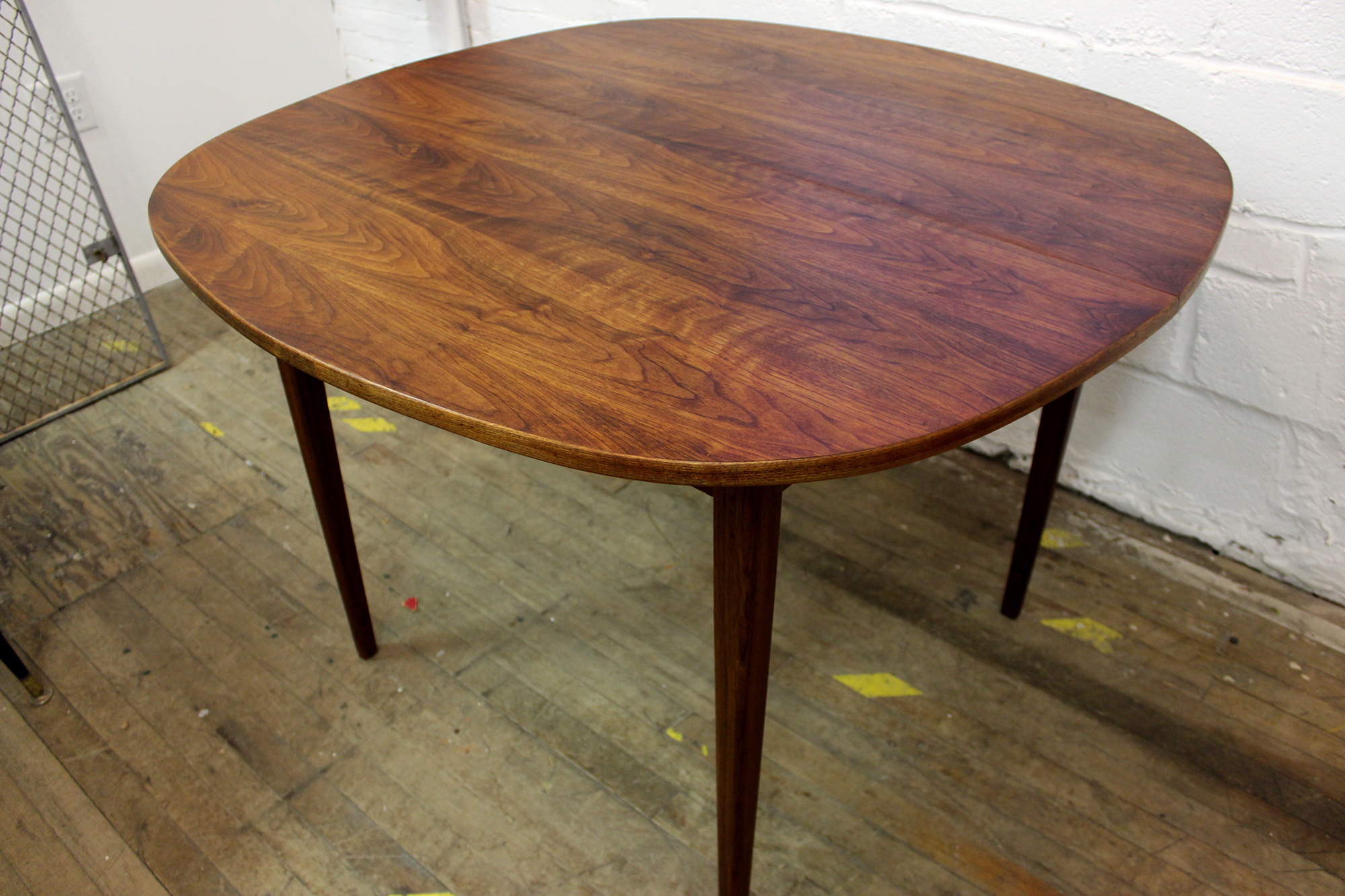 MidCentury Solid Teak Dining Table Royal - Mid century square dining table